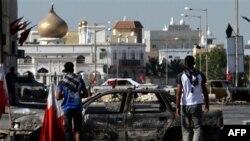 Шиитский поселок Думистан на западе Бахрейна. 21 марта 2011 года