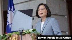 资料照:台湾总统蔡英文。