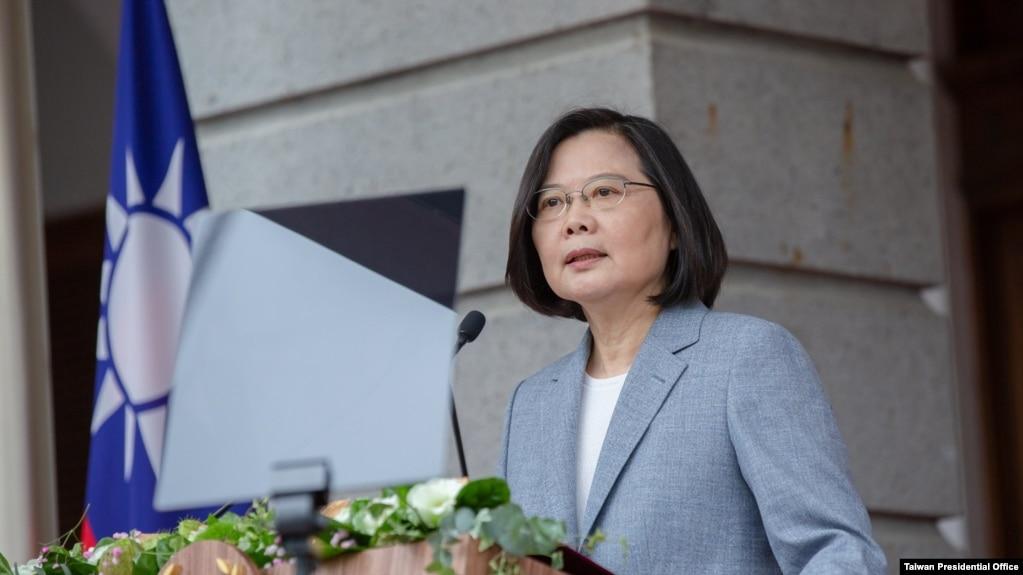 台湾总统蔡英文2020年5月20日在台北发表第2任就职演说