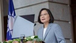 蔡英文:和香港人民站在一起