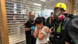 香港反送中觀塘遊行 關注智慧燈柱私穩問題