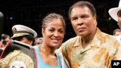 Muhammad Ali na mwanawe wa kike, Laila Ali