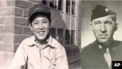 한상만 씨의 어릴적(왼쪽)과 아버지 슈나이더 박사(오른쪽)