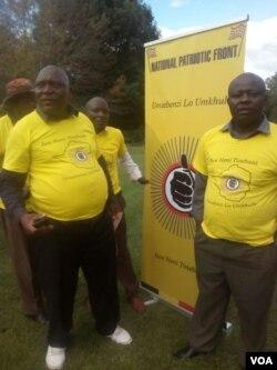 UMkhokheli webandla leNational Patriotic Front, uRetired Brigadier Ambrose Mutinhiri, labanye bakhe emhlanganweni bawenze ngoLwesithathu.