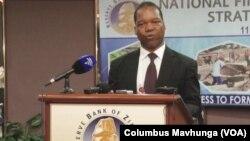 UMnu. John Panonetsa Mangudya, usibalukhulu webhanga le Reserve Bank of Zimbabwe.