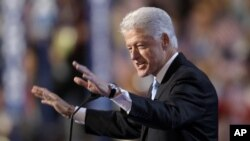 FILE - Former President Bill Clinton.