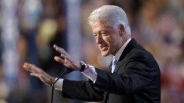 Ansyen  Prezidan ameriken Bill Clinton  (foto achiv)