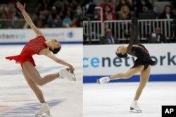 U.S Figure Skaters Mirai Nagasu and Karen Chen