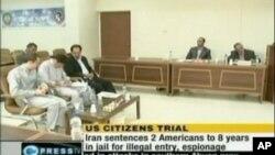 ایران د جاسوسۍ په تور نیول شوي امریکایان خوشۍ کړل