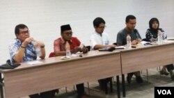 Diskusi memperingati Hari Toleransi Internasional yang digelar Setara Institute di Jakarta, Jumat (16/11). (Foto: VOA/Fathiyah)