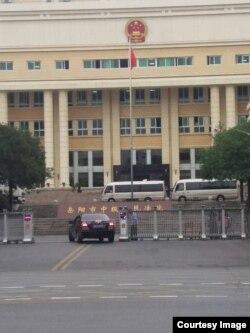 """台湾NGO志愿者李明哲被控""""涉嫌颠覆国家政权罪"""",此案在中国湖南岳阳中级人民法院开庭审理。(网络图片)"""