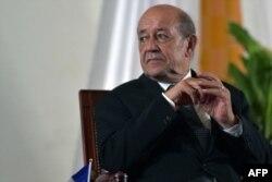 Fransanın xarici işlər naziri Jan İv Le-Drian