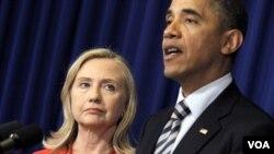 Prezidan Etazini an, Barack Obama, anonse peyi a ap voye Sekretè Deta Hillary Clinton nan yon vwayaj diplomatik nan Birmani