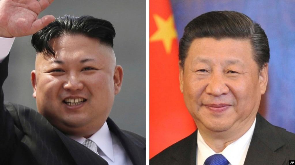 金正恩和习近平(资料照)