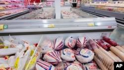 Nga là một trong những nước tiêu thụ thịt gia cầm đông lạnh lớn nhất của Mỹ.