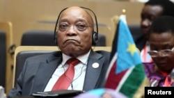 Presidente sul-africano, Jacob Zuma