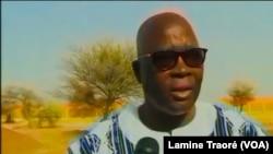 Siméon Sawadogo, ministre de l'Administration territoriale, au Burkina Faso, le 4 avril 2019. (VOA/Lamine Traoré)