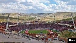 ورزشگاه یادگار امام تبریز محل مسابقات تیم تراکتورسازی