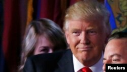 Le président élu des Etats-Unis Donald Trump, 9 novembre 2016.