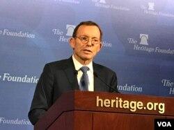 Mantan PM Australia, Tony Abbott. (Foto: dok).
