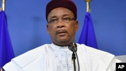 Shugaban Nijar Niger Mahamadou Issoufou