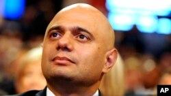ساجد جاوید، برطانوی وزیرِ داخلہ