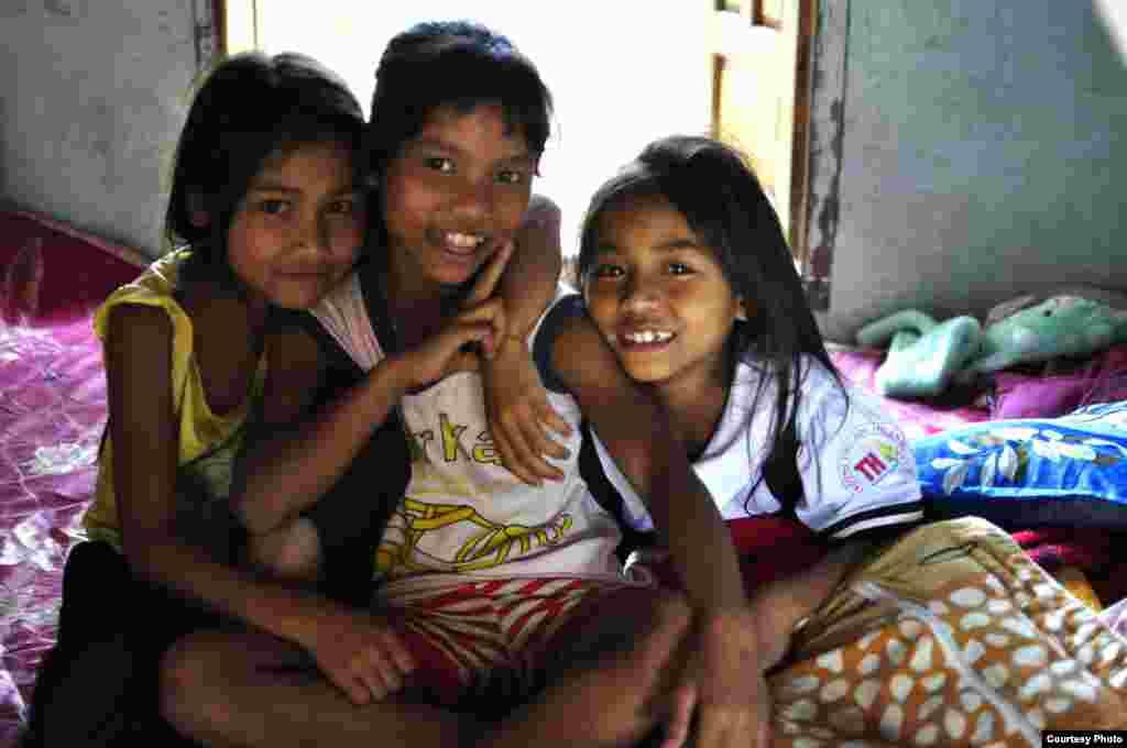 Trẻ em dân tộc A Lưới