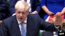 25 July 2019, İngiltere Başbakanı Boris Johnson Avam Kamarası konuşması