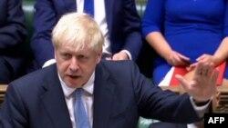بوریس جانسون امروز در پارلمان به عنوان نخست وزیر بریتانیا حضور یافت.