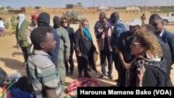 Agadez: Wakiliyar Hukumar Majalisar Dinkin Duniya Ta Kai Ziyara Wa 'Yan Gudun Hijira
