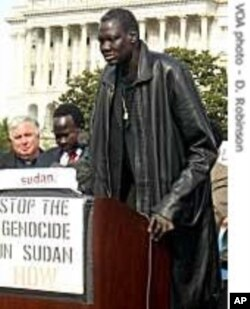 The late Manute Bol