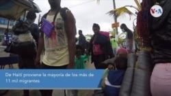 ¿Qué lleva a migrantes haitianos a atravesar el Tapón del Darién en ruta a EE. UU.?