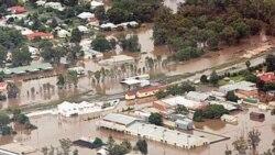 جاری شدن سیل در استرالیا