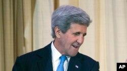 Le secrétaire d'Etat américain, John Kerry