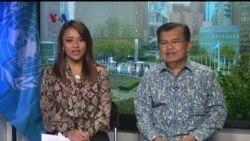 Wawancara Eksklusif VOA dengan Wapres RI Jusuf Kalla di Markas Besar PBB, New York