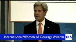 Kerry Honors International Women of Courage 2016 Awardees