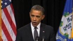 奥巴马誓言不让小学枪击案悲剧重演