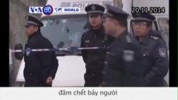 Bảy người bị đâm chết tại một bệnh viện ở Trung Quốc (VOA60)