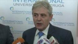 Изјава на Али Ахмети, лидер на ДУИ
