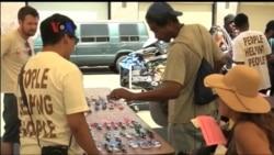 Warga Muslim Los Angeles Bantu Kaum Tuna Wisma