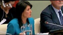 """""""Venezuela representa un peligro para el mundo"""": Nikki Haley"""