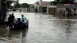 Luanda debateu-se com cheias