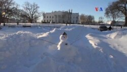 Capitalinos se abren paso tras fuerte nevada