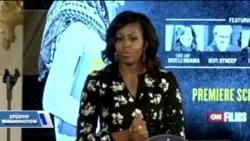First Lady'den Kız Çocuklarının Eğitimine Destek