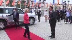 Претседателката на ЕК во Скопје со порака дека местото на Северна Македонија е во ЕУ