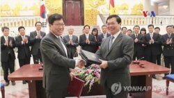 Việt Nam, Nam Triều Tiên ký hiệp định thương mại tự do