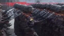 La Corée du Nord fait un show militaire (vidéo)