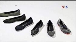 Sepatu dari Plastik Botol Air Kemasan Daur Ulang
