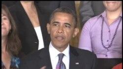 2012-07-10 美國之音視頻新聞: 奧巴馬要求延長對中產階層的減稅計劃
