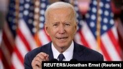 Arhiva: Američki predsednik Džozef Bajden tokom govora u Pitsburgu (Foto: REUTERS/Jonathan Ernst)